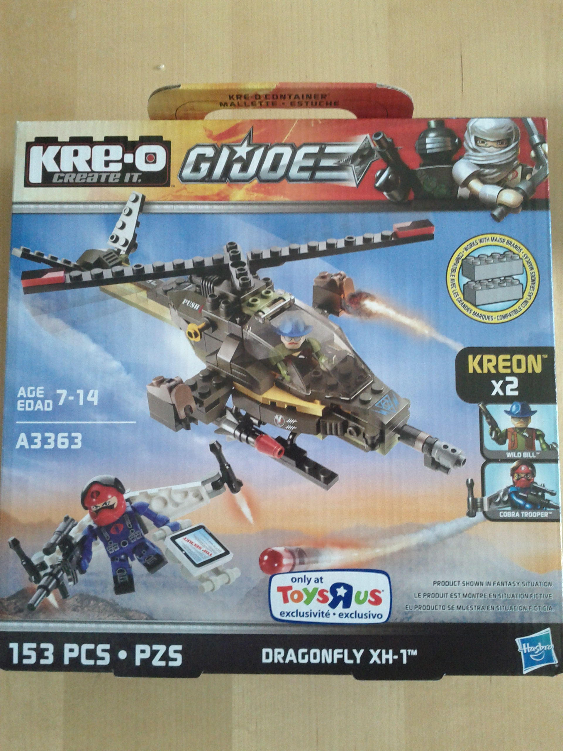 First box of Kre-O has arrived