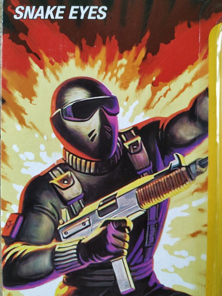 Snake Eyes Card Art