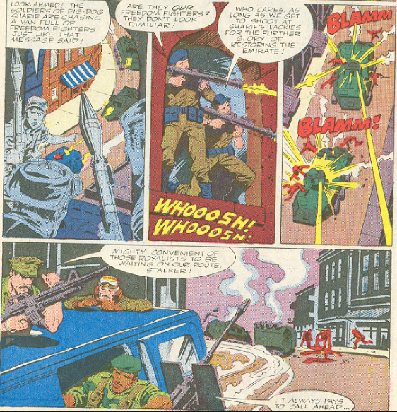 Marvel G.I.Joe Special Missions #3 - The enemy of my enemy.