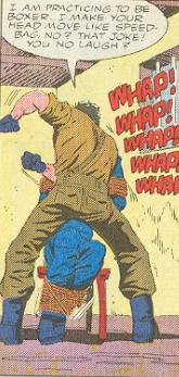 Marvel G.I.Joe Special Missions #3 - Sgt. Abdul at work