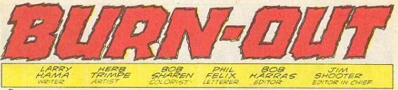 Marvel G.I.Joe Special Missions #3 - Burn-out!